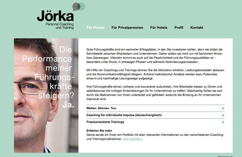 Jörka Website Firmen