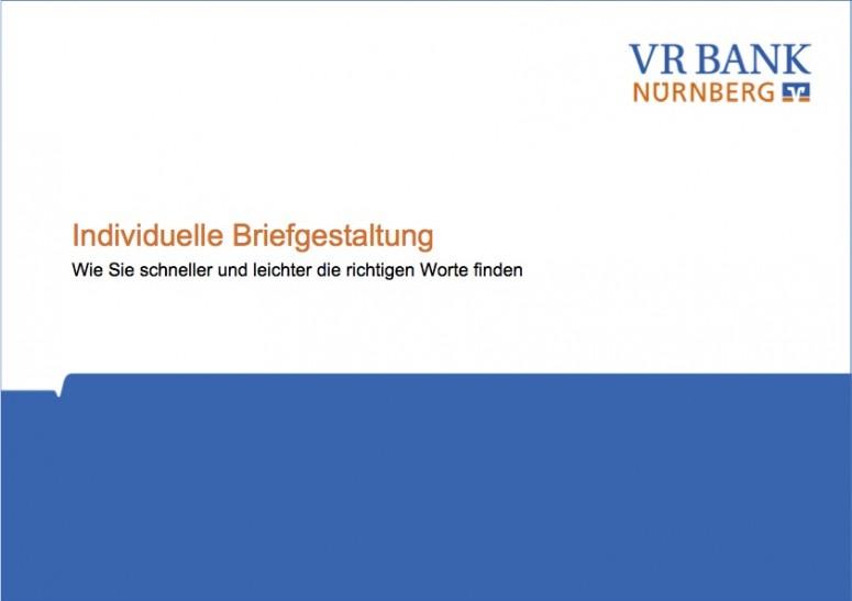 VR Bank Nürnberg Workshop 2