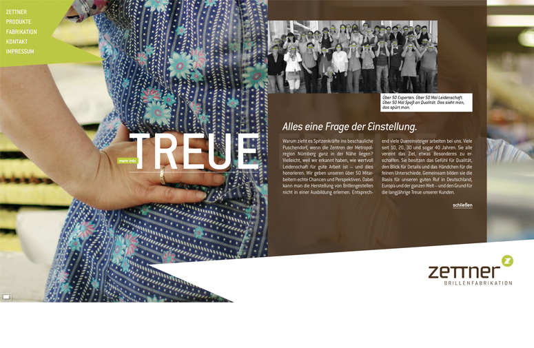 Zettner Website Treue