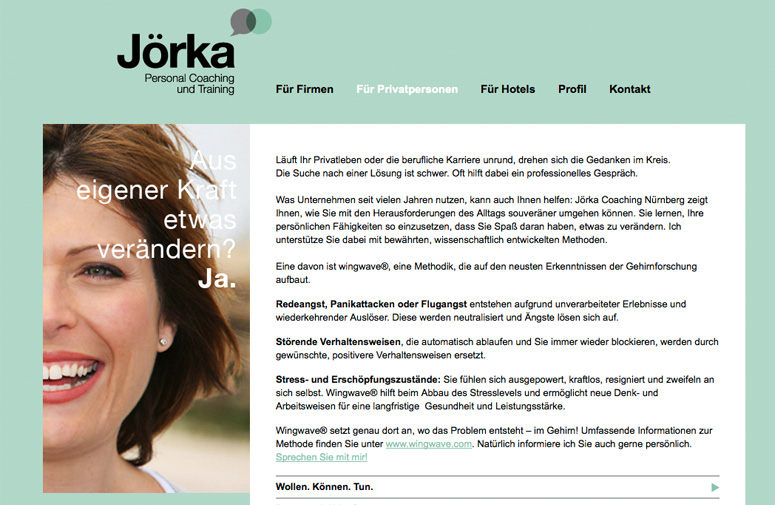 Jörka Website Privat