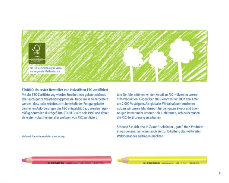 Stabilo Nachhaltigkeit 3