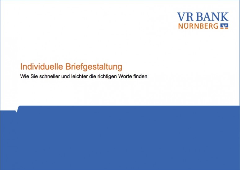 VR Bank Nürnberg Workshop 2