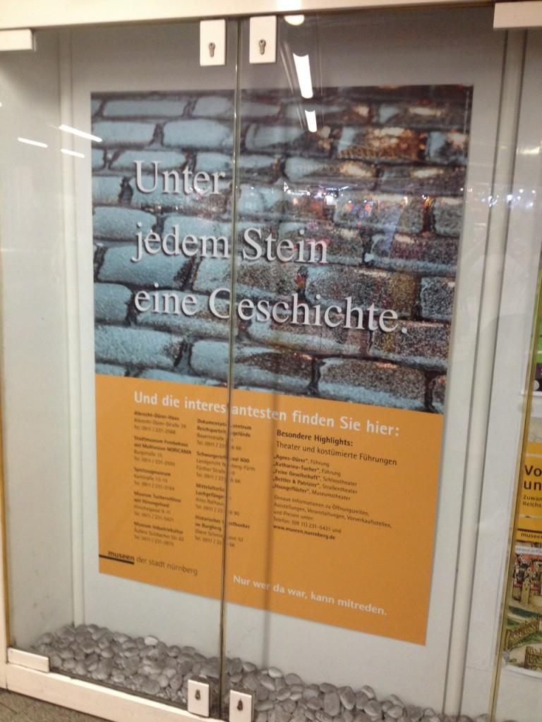U-Bahn Museen Plakat
